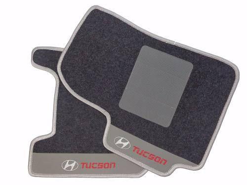 Kit Tucson Assoalho +porta Malas Carpete Premium 12m
