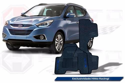 Kit Tapete Assoalho + Porta Malas Premium 12mm Hyundai Ix35
