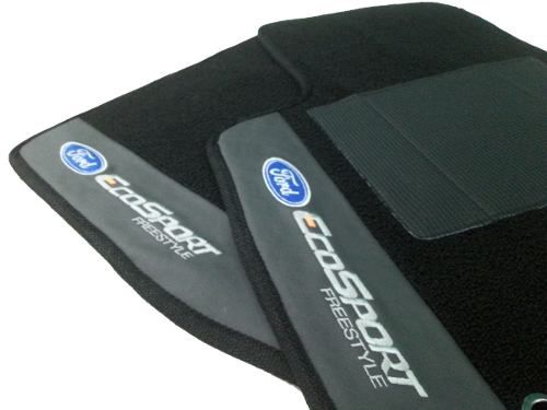 Tapete Ford Ecosport Carpete Premium 12mm Base Pinada