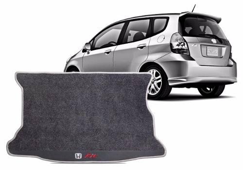 Tapete Honda Fit Porta Malas Em Carpete 12mm Hitto O Melhor!