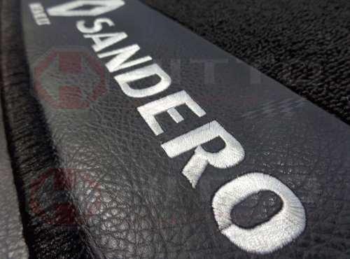 Tapete Renault Sandero Carpete Premium 12mm Base Pinada