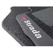 Tapete Fiat Strada Cab. Dupla Carpete 8mm Base Pinada