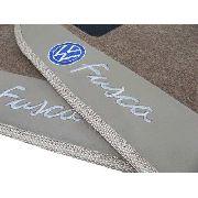 Tapete Vw Fusca Carpete 8mm Base Pinada