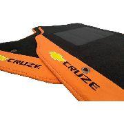Tapete Gm Cruze Ltz Carpete 8mm Base Pinada
