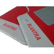 Tapete Carpete 12mm Base Pinada Premium Hyundai Elantra