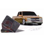 Tapete Carpete Linha Premium 12mm Silverado( Par)