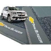Kit Tapete Trailblazer Carpete 12mm Assoalho + Porta Malas12