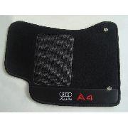 Tapete Audi A4 2009 Carpete 8mm Base Borracha Pinada