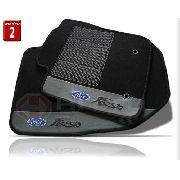 Tapete Ford Fiesta 2002/... Carpete 8mm Base Pinada