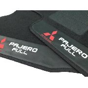 Tapete Mitsubishi Pajero Full 3 Portas Carpete 8mm Base Pina