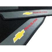 Tapete Trailblazer 7 Lugares Carpete 8mm Base Pinada Hitto!