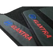 Tapete Hyundai Elantra Premium Carpete 12mm Base Pinada