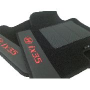 Tapete Hyundai Ix35 Carpete Premium 12mm Base Pinada