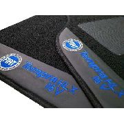 Tapete Fiat Tempra Carpete Premium 12mm Base Pinada
