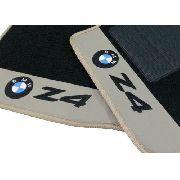 Tapete Bmw Z4 Carpete Premium 12mm base pinada