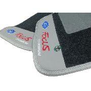 Tapete Ford Focus Titanium Carpete 8mm Base Borracha Pinada