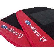 Tapete Ford Maverick V8 Carpete 8mm Base Borracha Pinada