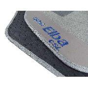 Tapete Fiat Elba  Carpete 8mm Base Pinada