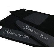 Tapete Mercedes Classe A Carpete 8mm Base Borracha Pinada