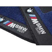 Tapete Bmw Serie5 528,530,540 Carpete Premium 12mm Base Pinada