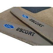 Tapete Ford Escort Carpete Premium 12mm Base Pinada