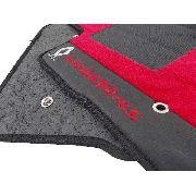 Tapete Sandero Rs Carpete Premium 12mm Base Pinada