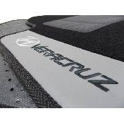 Tapete Hyundai Vera Cruz Carpete 8mm Base Borracha Pinada
