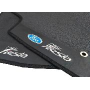 Tapete Ford New Fiesta Borracha Pvc Com Base Pinada Hitto