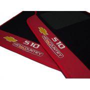 Tapete S10 High Country Carpete 8mm Base Pinada O Melhor!