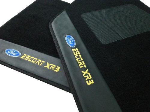 Tapete Escort Xr3 Carpete 8mm Base Pinada Hitto
