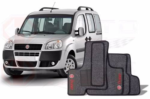 Tapete Fiat Doblo Adventure Carpete Premium 12mm Base Pinada