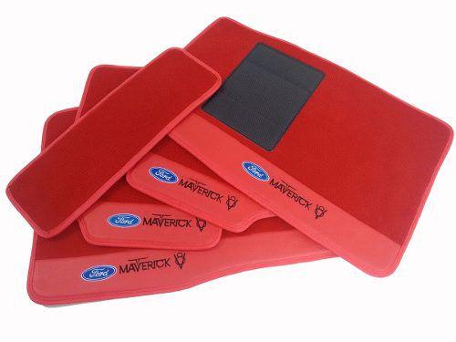 Tapete Ford Maverick V8 Carpete Premium 12mm Hitto O Melhor!