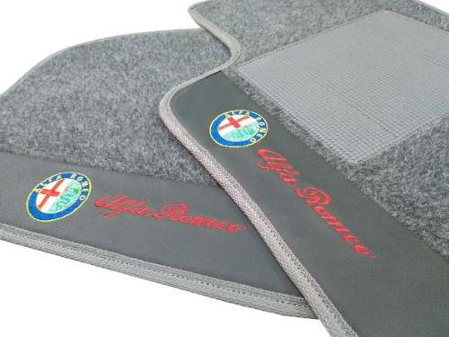 Tapete Alfa Romeo 145 8mm Hitto Base Borracha Pinada