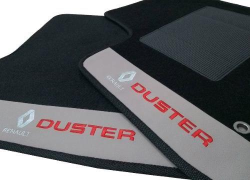 Tapete Renault Duster Carpete 8mm Base Pinada