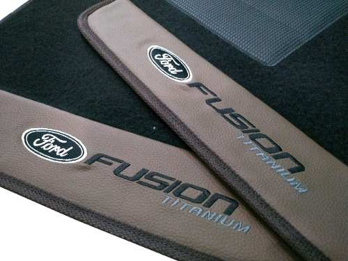 Tapete Ford Fusion Carpete 8mm Base Pinada