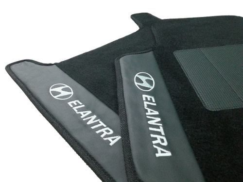 Tapete Hyundai Elantra Carpete 8mm Base Pinada Hitto!