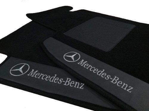 Tapete Mercedes Classe A Carpete 8mm Base Borracha Pinada