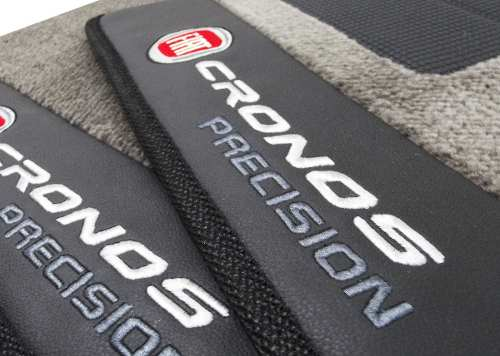 Tapete Fiat Cronos Carpete Precision Premium 12mm Base Pinada