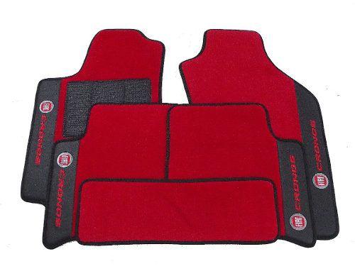 Tapete Fiat Cronos Carpete Premium 12mm Base Pina
