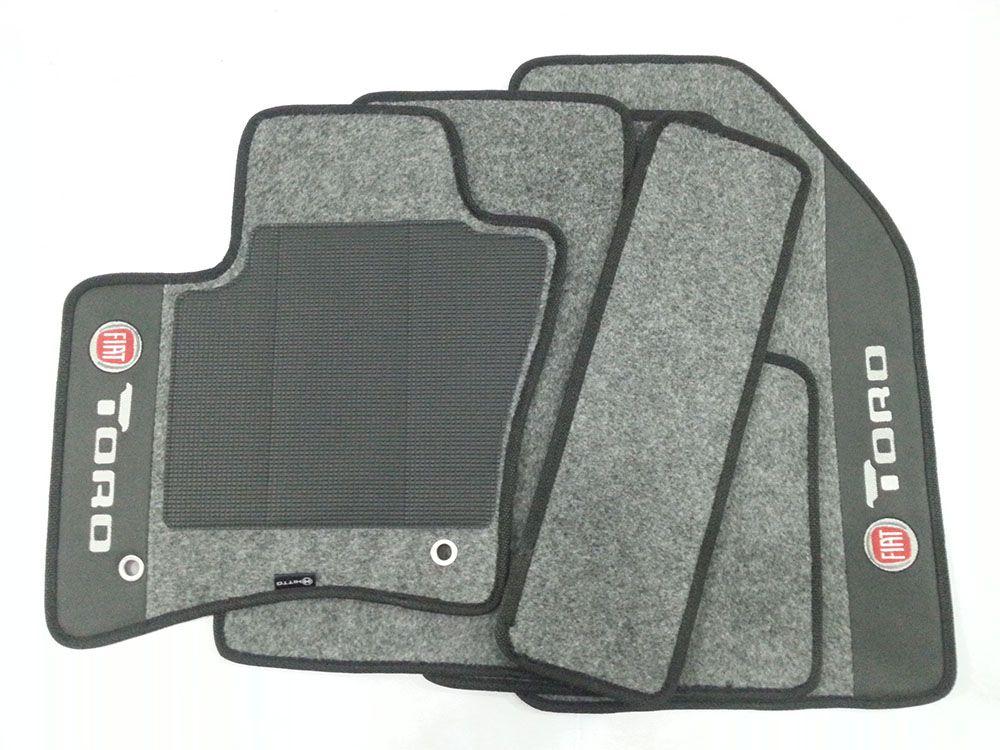 Tapete Fiat Toro 8mm Premium Base Pinada