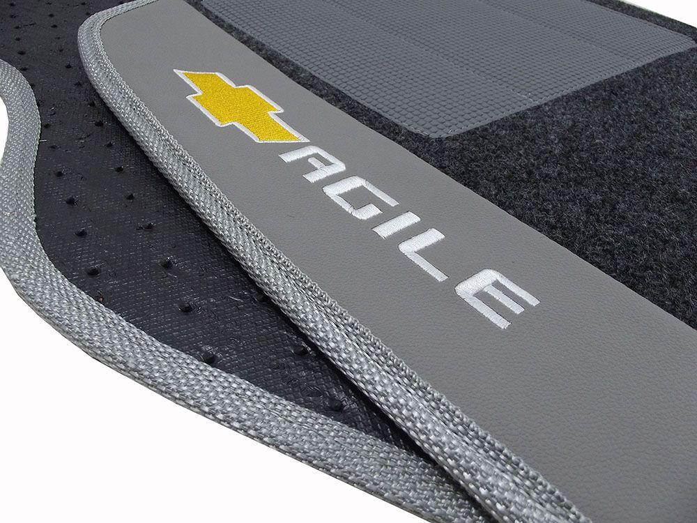 Tapete Carpete Agile 8mm Base Borracha Pinada