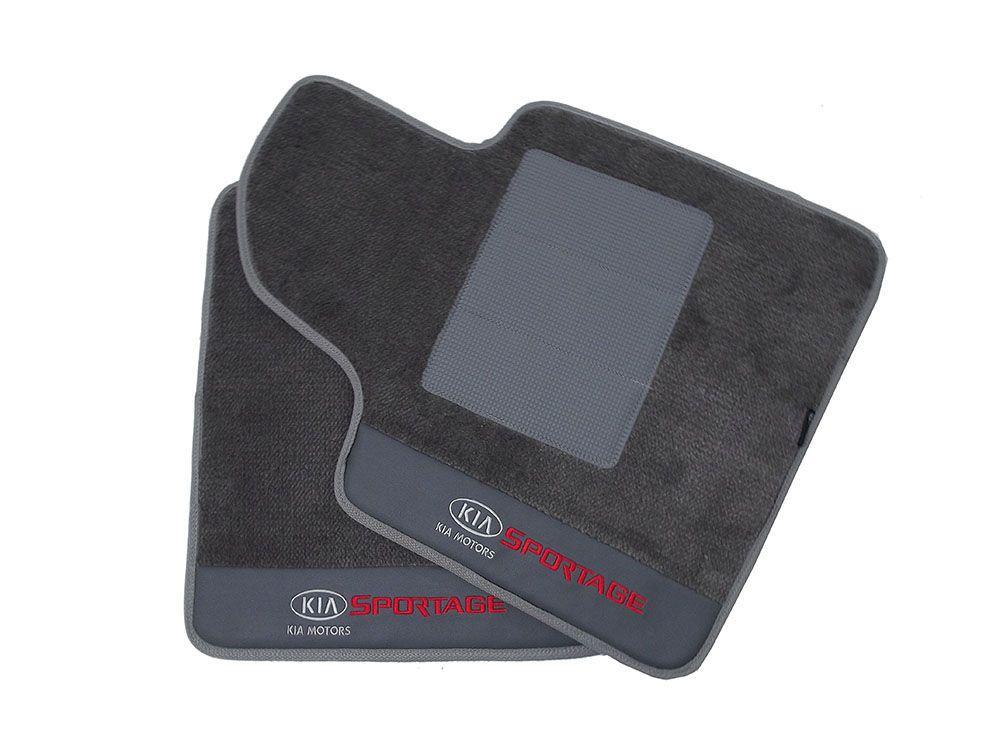Tapete Carpete Kia Sportage Carpete Premium 12mm Base Pinada