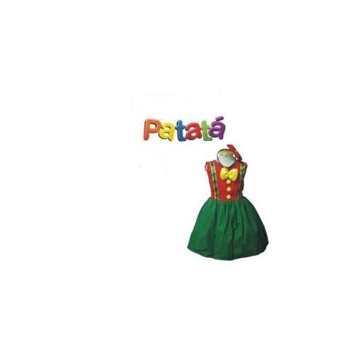 Fantasia Patat� Infantil - Feminina - Point Da Dan�a - fantasia para festa carnaval