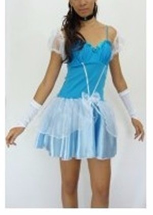 Fantasia Cinderela - Princesa Da Disney - Adulto - fantasia para festa carnaval - point da dança
