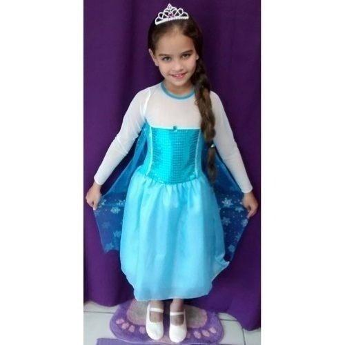 Fantasia Elsa Frozen - Infantil - Point Da Dan�a