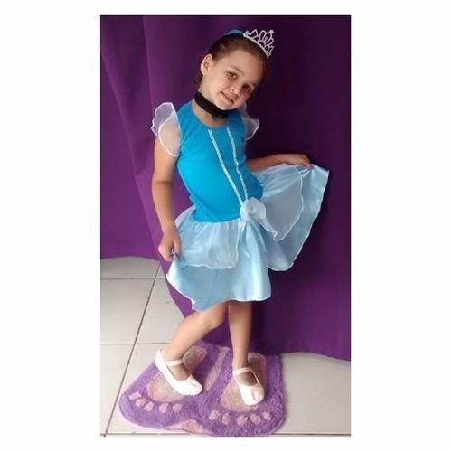 Fantasia Cinderela Infantil - Point Da Dança - fantasia para festa carnaval