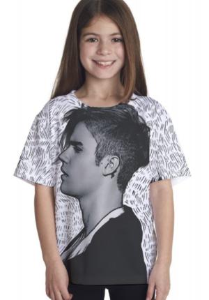 Camisa Justin Bieber Personalizada