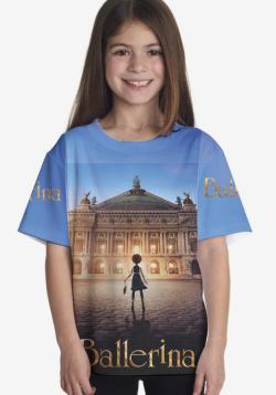 Camisa Personalizada filme Ballerina