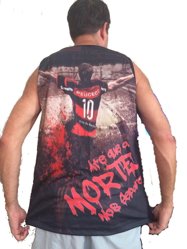 Camiseta Flamengo Capa de Celular