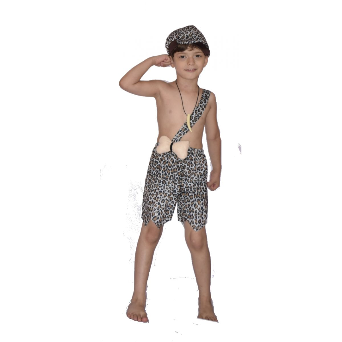 Fantasia Bambam Rubble Flinstones - Infantil -point Da Dança